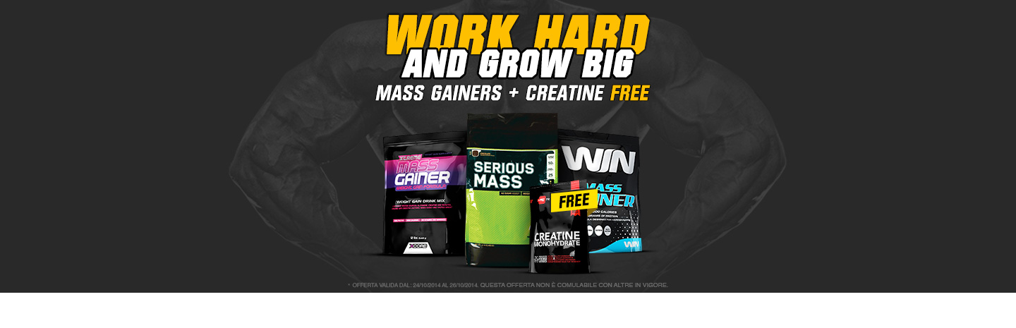 gainers+creatineFree